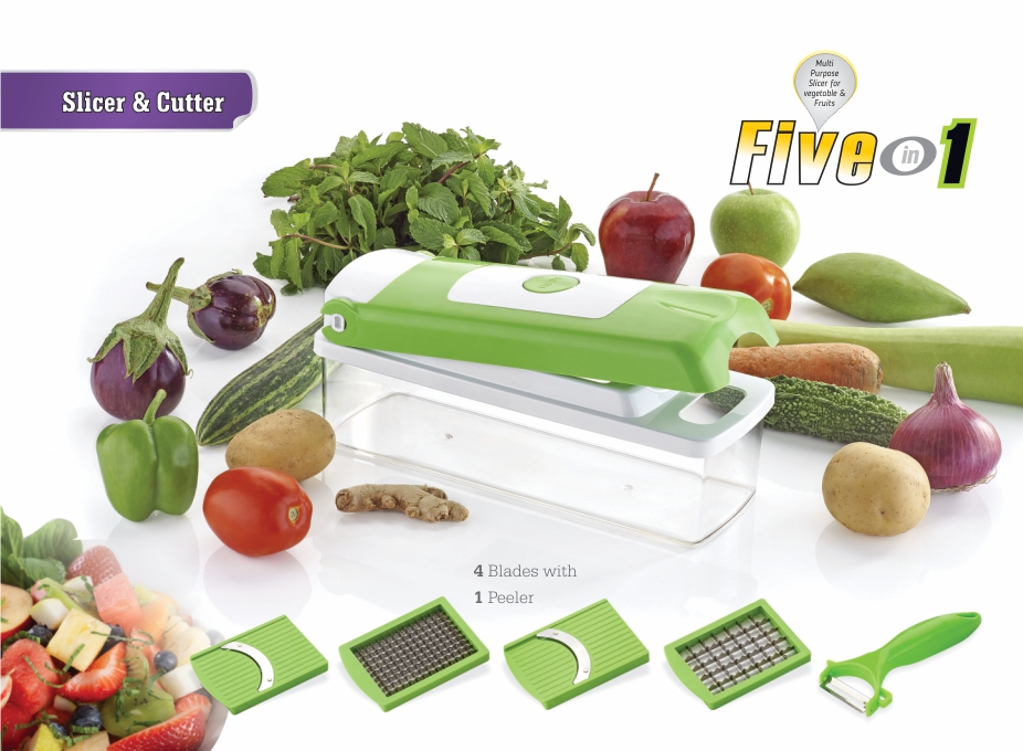 5 in 1 Slicer & Cutter