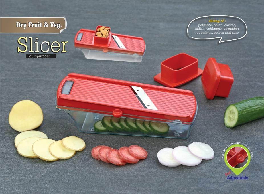 Dry Fruit & Vegetable Slicer
